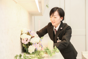 なすの斎場グループ生花部平山智美の画像