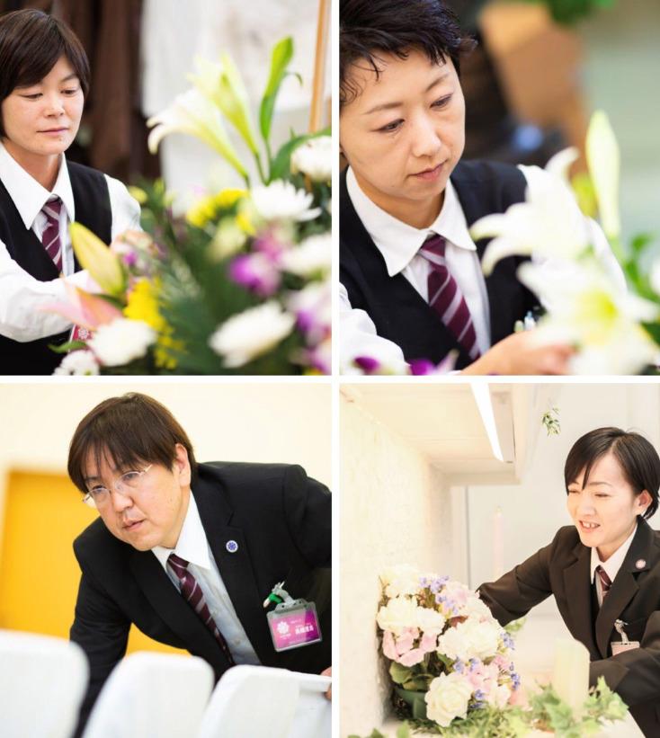 大田原の生花スタッフ画像