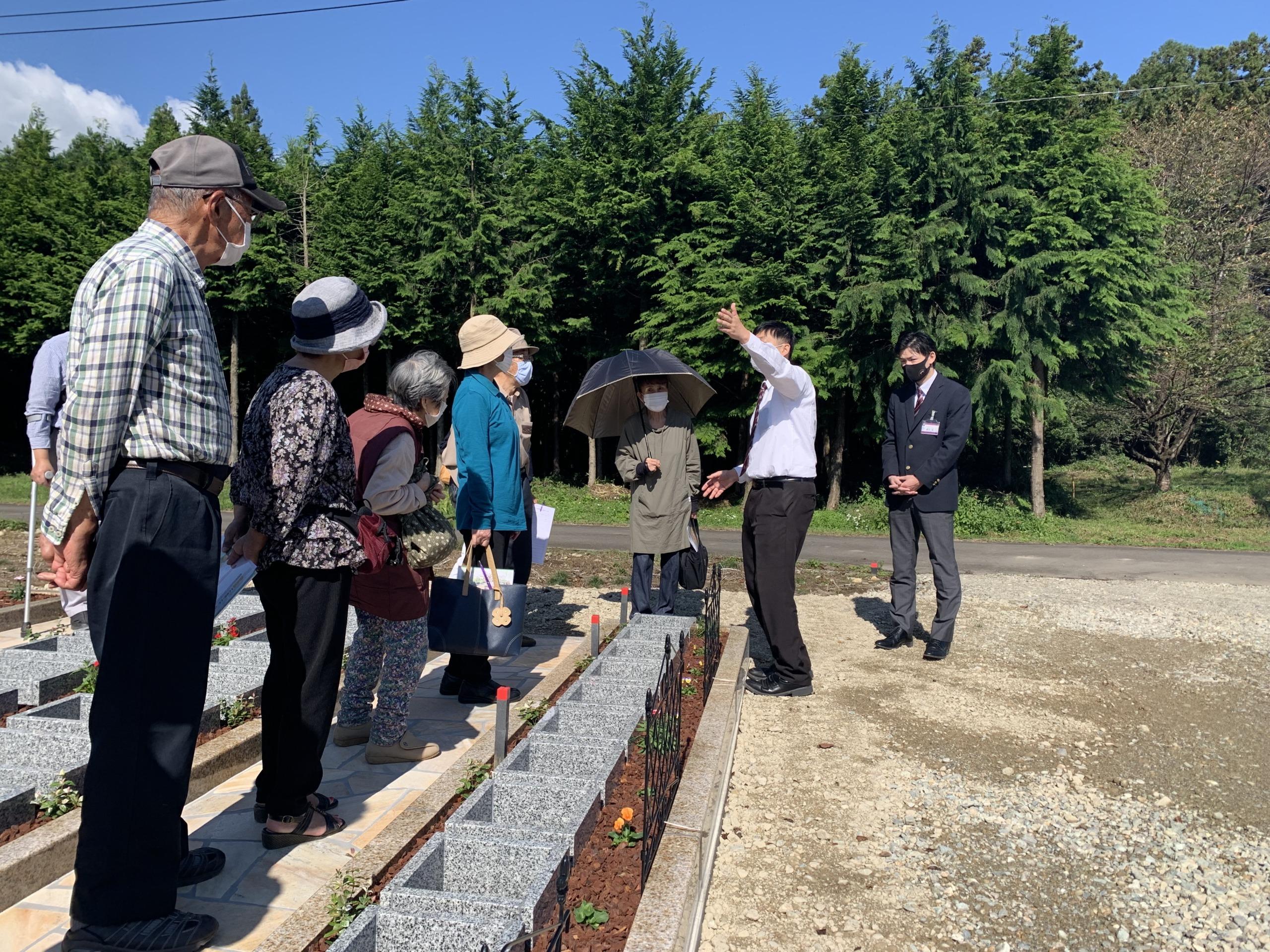 樹木葬イベントの写真